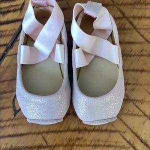 Janie & Jack Pink Shoes size 4